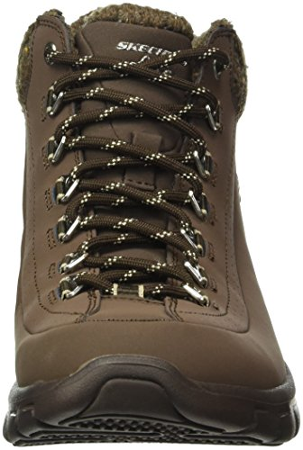 Brown Choc Synergy SKEES Baskets Skechers Femme Sportives Nights Winter q0pxqSwHZ
