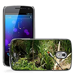 Hot Style Cell Phone PC Hard Case Cover // M00307453 Arrow Brook Grass Green Summer // Samsung Galaxy Nexus GT-i9250 i9250