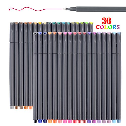 Smart Colored Pens for Bullet Journal Planner 2018-2019, Fine Point...