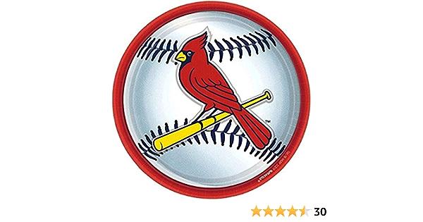 Amscan 394878 St Party Decoration Louis Cardinals Major League Baseball Collection Plastic Flags 12 pcs