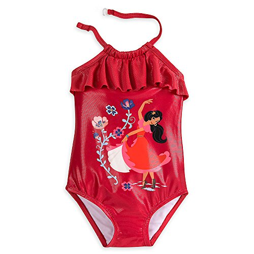 Disney Elena of Avalor Swimsuit for Girls Size 5/6