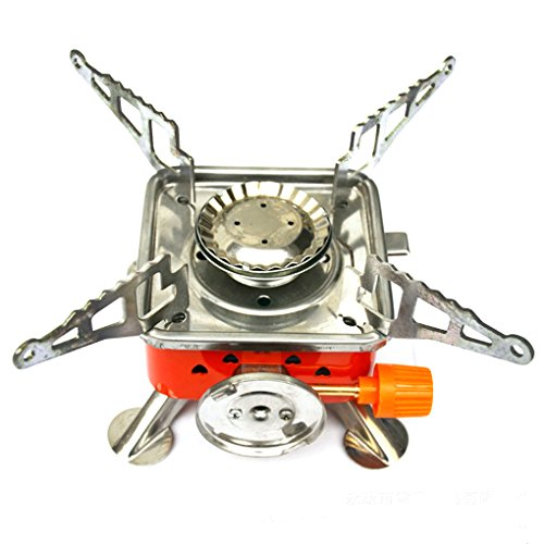 Outdoor Camping Gas Stove Backpacking Butane Burner Folding Gas Stove Furnace Picnic Cooking Gas Stove