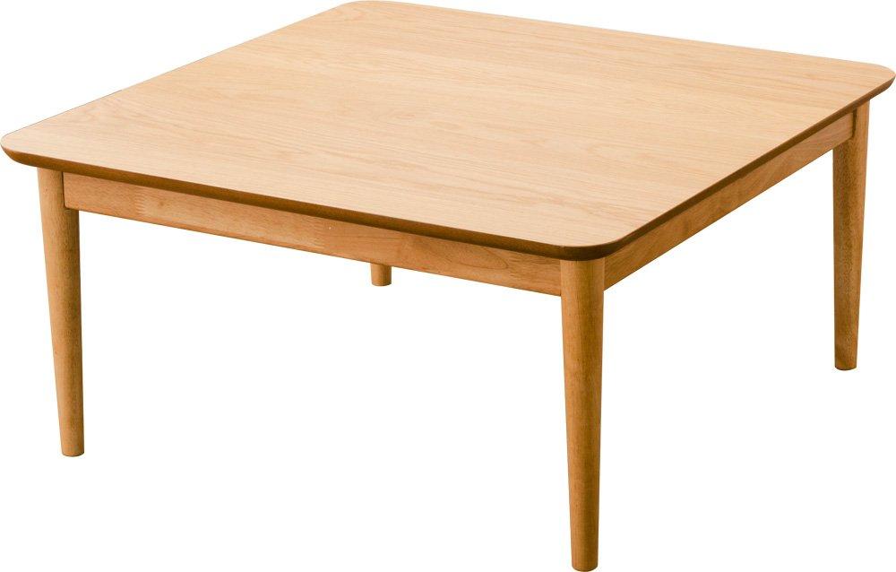 エムール こたつテーブル 【国産ヒーター付き】 正方形 75×75×36cm ローテーブル ホワイトオーク突き板 B016LPS45A 正方形 ホワイトオーク ホワイトオーク 正方形