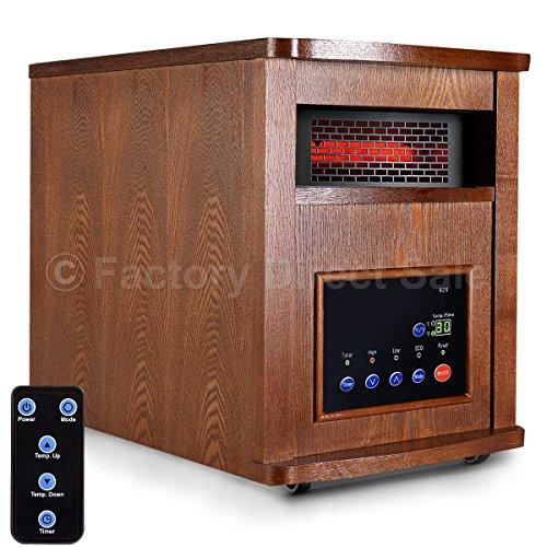 Giantex 1500w Pro 6 Element Infrared Quartz Heater Large