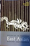 img - for Sources in Modern East Asian History and Politics book / textbook / text book