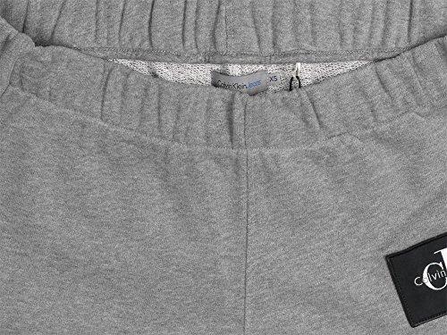 W True Jeans Grigio Mélange Icon Calvin Pantaloncino Klein w4Iqc7