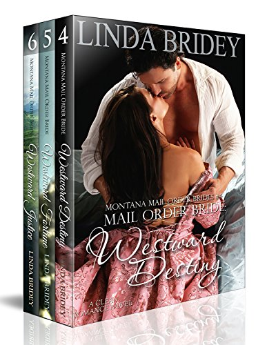 Montana Mail Order Bride Box Set (Westward Series) - Books 4 - 6: Historical Cowboy Western Mail Order Bride Bundle (Westward Box Sets Book (Order 4 Boxes)
