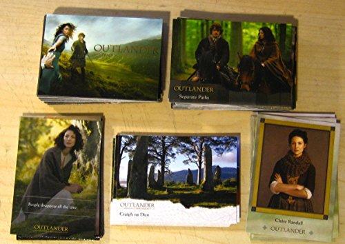 2016 Outlander Season 1 Trading Cards 99-Card Master Set