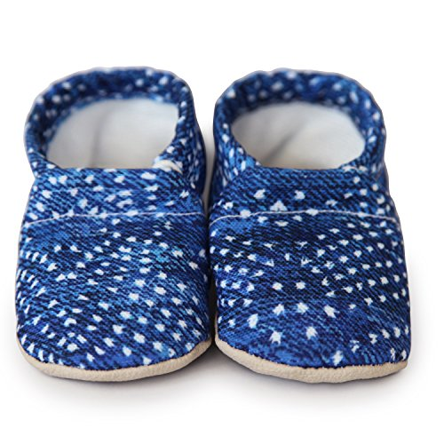 - Clamfeet Organic Soft Soled Baby Shoes - LEVI (Size 2 (6-12 Months))