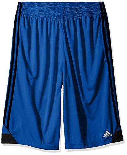 adidas Mens 3G Speed Big & Tall Shorts, Collegiate Royal/Black, Large/Tall