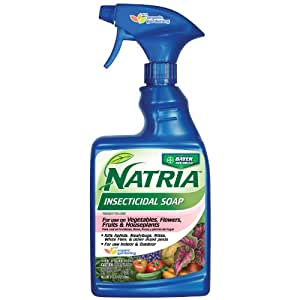 Bayer Advanced NATRIA 706230 Insecticidal Soap Ready-To-Use, 24-Ounce