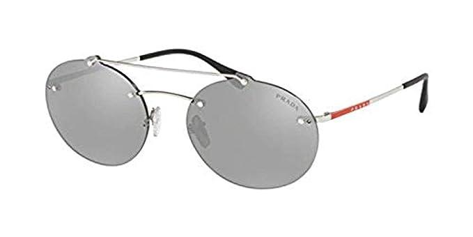Amazon.com: Prada Linea Rossa PS 56 TS 1BC2B0 - Gafas de sol ...