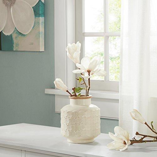 Averly Modernist Decorative Vase Cream See (0017 Cream)