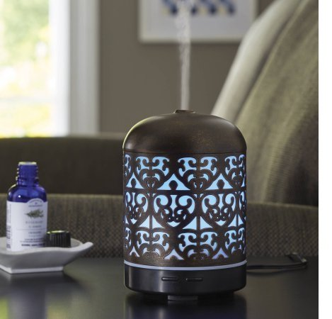 Better homes and gardens essential oil diffuser with moroccan scroll design accents Better homes and gardens diffuser