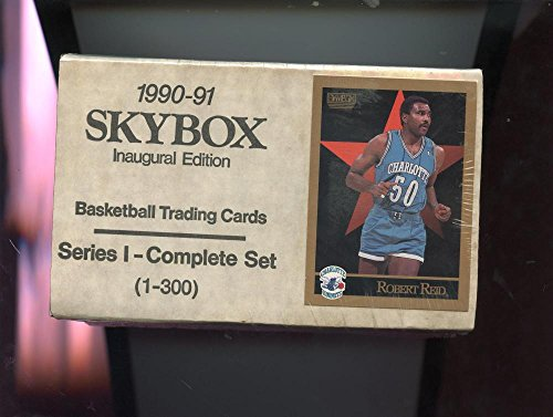 1990-91 Skybox Basketball Card Series 1 One Complete Set Box Michael Jordan 1991
