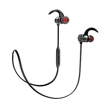 Auriculares inalámbricos deportivos para teléfono móvil, auriculares de música, sonido estéreo, manos libres, llamadas para gimnasio, entrenamiento, fitness ...
