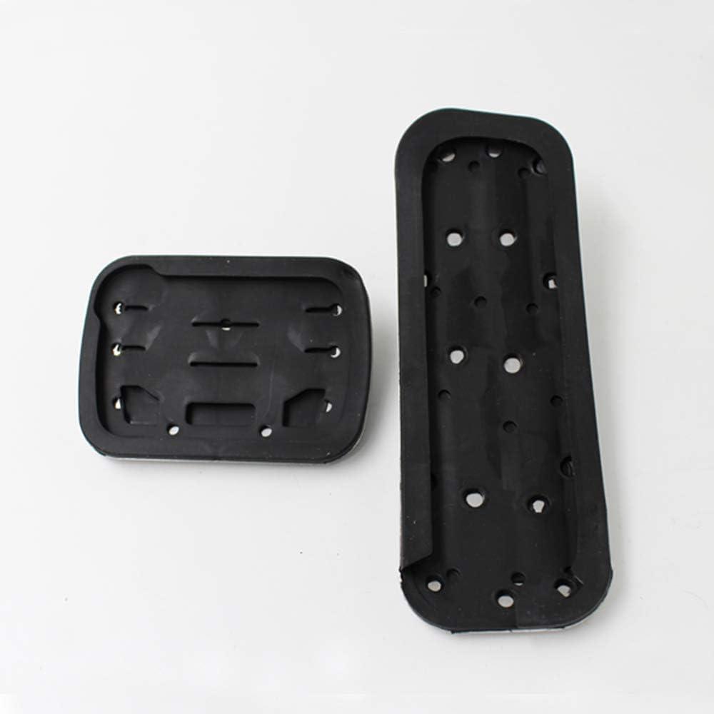 Foot Pedal Pad Cover Fit Ford Explorer 13-16 Anti Skid No Damage AT//2PCS