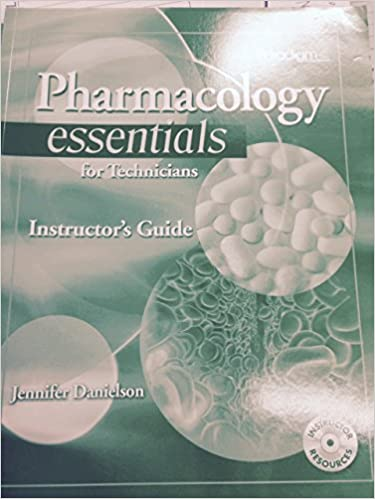 Book Pharmacology Essentials for Technicians: Instructor's Guide with EXAMVIEW® print and CD
