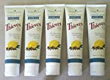 Thieves Dentarome Ultra Toothpaste 5pk of 4oz tubes by Young Living Essential Oils