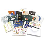 36 Pack Assorted Greeting Cards - All Occasion Cards Includes Birthday, Sympathy, Congratulations, Thank You Note Cards Assortment - Bulk Box Set with Envelopes Included - 36 Designs - 4 x 6 Inches
