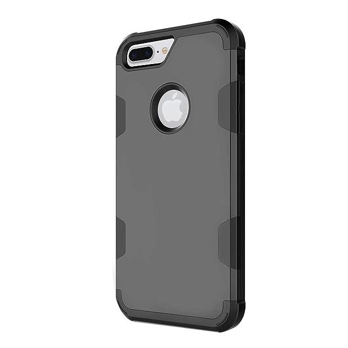Funda iPhone 8 Plus, iPhone 7 Plus Carcasa Cover Case 3 en 1 ...
