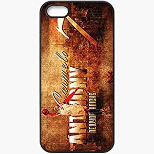Personalized iPhone 5 5S Cell phone Case/Cover Skin 14636 carmelo anthony 2 Black