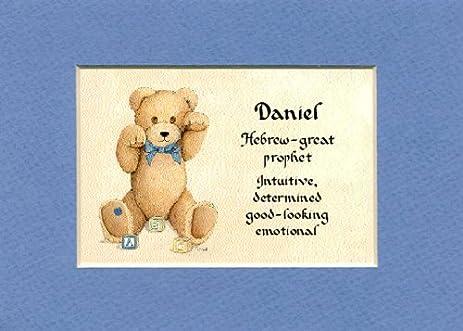 Amazon personalized baby name daniel nursery wall decor gift personalized baby name daniel nursery wall decor gift made in the usa negle Gallery