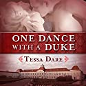 One Dance with a Duke: The Stud Club Trilogy, Book 1 Hörbuch von Tessa Dare Gesprochen von: Leslie Bellair