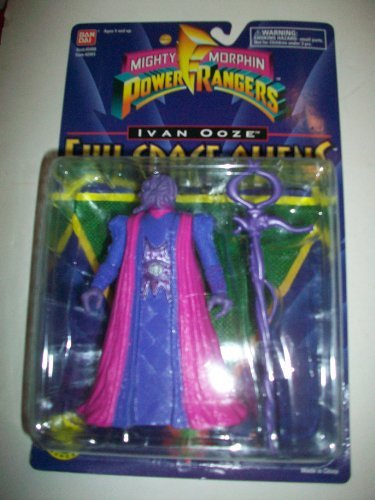 """Power Rangers the Movie MMPR 1995 Evil Space Alien Ivan Ooze MOSC MOC NEW 5 1/2"""" Rare Action Figure"""