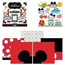 Scrapbook Customs Themed Paper and Stickers Scrapbook Kit, Magical Memories