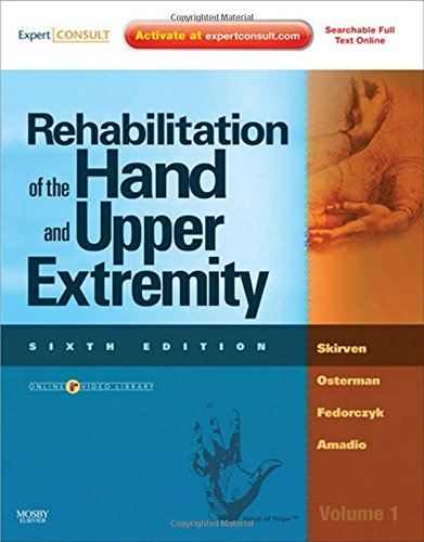 Rehabilitation of the Hand and Upper Extremity, 2-Volume Set: Expert Consult: Online and Print, 6e by Brand: Mosby