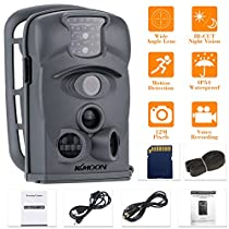 KKMOON 12MP 720P HD 940nm IR Cámara Impermeable de Seguridad