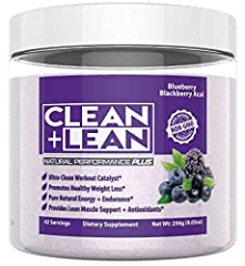 EVERY RUN. EVERY RIDE. EVERY REP. CLEAN + LEAN Natural Performance 'PLUS' does more than deliver CLEAN energy, focus, and endurance to push through even the toughest workouts. It does more than provide the precise ratio of Branch Chain Amino ...