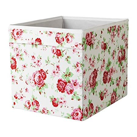 2 x IKEA DRONA 33x38x33cm Home/Office Storage Box Perfect for Everything (Floral)  sc 1 st  Amazon UK & 2 x IKEA DRONA 33x38x33cm Home/Office Storage Box Perfect for ...