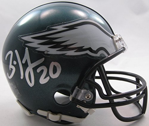 Brian Dawkins Philadelphia Eagles, Signed, Autographed, Football Mini Helmet, a COA with the Proof Photo of Brian Signing Will Be Included