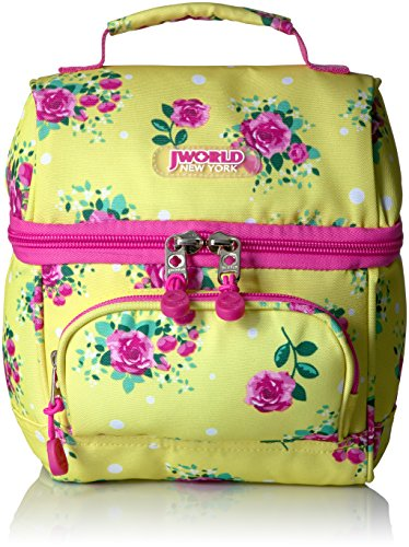 J World New York Corey Lunch Bag, English Rose (World Best Rose Pic)