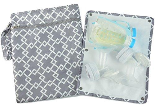 """Sarah Wells """"Pumparoo"""" for Breast Pump Parts, Wet Dry Bag wi"""