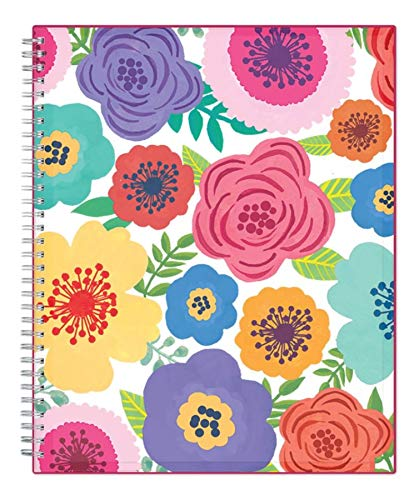Blue Sky 2019-2020 Academic Year Weekly & Monthly Planner, Flexible Cover, Twin-Wire Binding, 8.5'' x 11'', Mahalo by Blue Sky (Image #4)