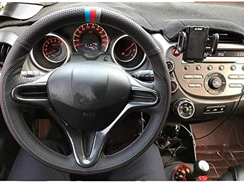 Car Interior Steering Wheel Button Trim Styling Moulding Bezel Cover Sticker for Honda Civic 8th Gen 2009-2011 ABS