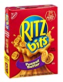 Nabisco Ritz Bits Cracker Sandwiches Peanut Butter 8.8 OZ (Pack of 24)