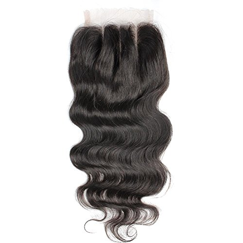 Greatremy Body Wave 3 Part Lace Closure 4x4 8