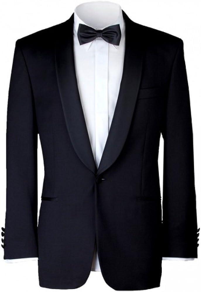 Gentleline - Esmoquin clásico, camisa blanca para esmoquin y pajarita: Amazon.es: Ropa y accesorios