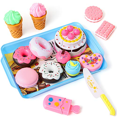 cute pretend bakery treat set