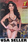 Tanduay Rum sexy 2015 ORIGINAL calendar poster #B 22 x 28.5 Jennylyn Mercado Philippines HTF (sent FROM USA in PVC pipe)