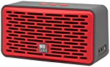 MBQUART QUBFour Oversized Wireless Bluetooth Speaker (Red)