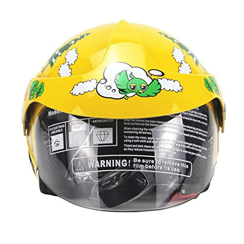 Generp Vier Jahreszeiten Kinderhelme, Motorrad Harley Battery Car Helm, für Männer und Frauen Baby Kids