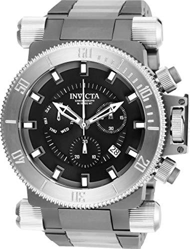 - Invicta Men's 26641 Coalition Forces Quartz Chronograph Black Dial Watch