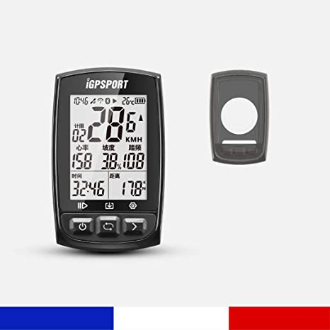 Pack BHN GPS Multiusos Ordenador para Bicicleta + Funda Negra ...