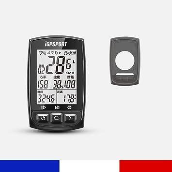 Pack BHN GPS Multiusos Ordenador para Bicicleta + Funda Negra IGPSPORT IGS50E: Amazon.es: Electrónica