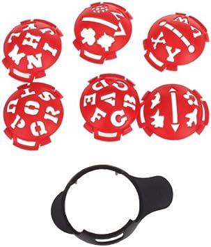 Base para marcar pelotas de golf, con diferentes plantillas ...